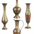 Stock Photo: Brass vases
