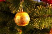 Christmas bauble — Stock Photo