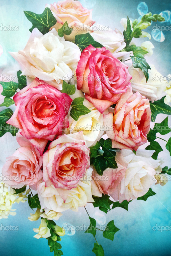 Mazzi di fiori belli — Foto Stock #36468991