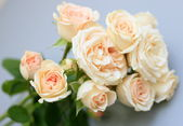 Bouquet of tender roses — Stock Photo