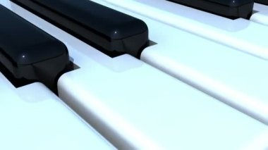 Piano Texture — Stock Video