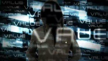 The Hacker — Stock Video