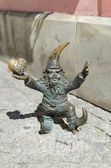 Dwarf in Wroclaw — Stock Photo