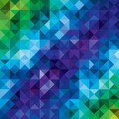 Vector geometric background — Stock Vector