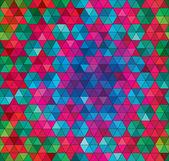 Vektor geometrische nahtlose hintergrund — Stockvektor