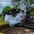 Historic train in Tiradentes — Stock Photo