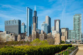 Skyline of Chicago — 图库照片
