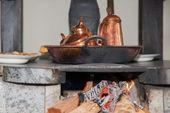 Fireside — Stock Photo