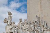 Monument the Discoveries — Stock Photo