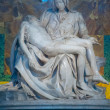 Pieta at St. Peter's Basilica Rome, Italy — Stock Photo