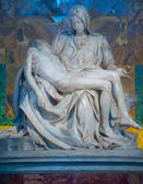 Pieta at St. Peter's Basilica Rome, Italy — Stock Photo