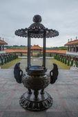 Inside a temple — Foto Stock