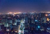 Sao Paulo at night — Stock Photo