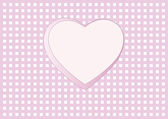 Valentine's Day, Wedding Card, Invitation — Stock Vector