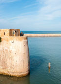 Couple at El-Jadida Morocco — Stock Photo