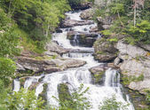 Waterfall in north carolina — Stock Photo