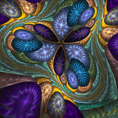 Fantastic background with a magic pattern — Stok fotoğraf