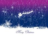 Cartão de plano de fundo de natal feliz — Vetor de Stock