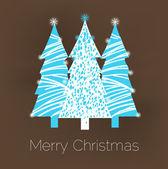 Christmas greeting card design — Stock Vector