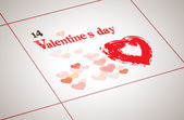 Valentine day today — Stock Vector