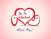 San valentino ti amo — Vettoriale Stock