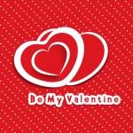 carta San Valentino cuore di carta — Vettoriale Stock