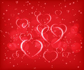 Valentine's day abstract background — Stock vektor