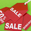 Stock Photo: Concept of discount.