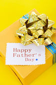 Father's day gift — Stockfoto