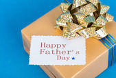 Father's day gift — Stock Photo