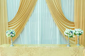The wedding scene, flower decoration — Stockfoto