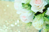The wedding scene, flower decoration — Foto Stock