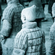 Foto Stock: Famous terracottwarriors of XiAn, China