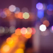 图库照片: Abstract colorful defocused circular facula