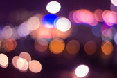 Abstract colorful defocused circular facula — 图库照片