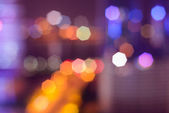 Abstract colorful defocused circular facula — Foto de Stock