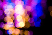 Abstract circular bokeh — Stock Photo