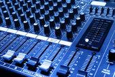 Sound-konsole — Stockfoto