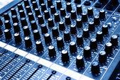 Sound console — Stock Photo