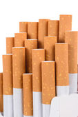 Close-up of cigarettes — Stock Photo