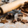 Ingredients for Baking Ginger Bread Cookies — Stock Photo