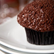 Chocolate Cupcake with Sprinkles — Stock Photo