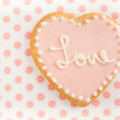 Cute Valentine's day Cookie — Stock Photo #29076051