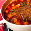 Stock Photo: Round Beef Roast