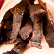 Beef Jerky Seasoned — Stock Photo