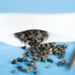 Loose Leaf Tea in White Paper Filter Ready to be Brewed — Stock Photo #29075095