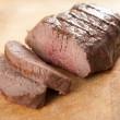Organic Beef Sirloin — Stock Photo