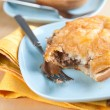 Freshly Baked Australian Meat Pies — Stock Photo