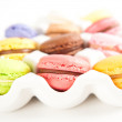 Assorted French Macaroons — Stock fotografie