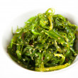 Bowl of Healthy Seaweed Salad — Stok fotoğraf